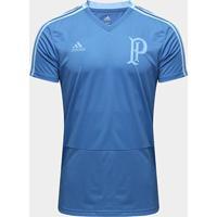 Camisa De Treino Palmeiras Adidas Masculina - Masculino-Azul
