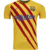 Camisa Barcelona El Classico 19/20 Nike - Masculina - Amarelo