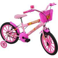 Bicicleta Polimet Polikids Aro 16 Infantil - Feminino