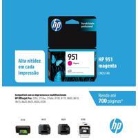 Cartucho Hp 951 Cn051Ab Magenta Para 8100 8610 8620 251Dw