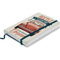Caderno De Anotações Vermelho 100 Folhas A6 Fusca Urban