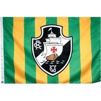 Bandeira Do Vasco Da Gama + Brasil Sublimada - Unissex
