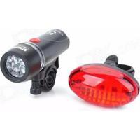 Lanterna Bike Blessed Dianteiro E Traseiro - Unissex