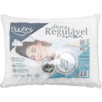 Travesseiro Duoflex Regulável Nasa Branco