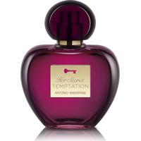 Perfume Antonio Banderas Her Secret Temptation Feminino Eau De Toilette 50Ml