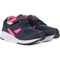 Tênis Infantil Kurz Velcro Jogging - Feminino