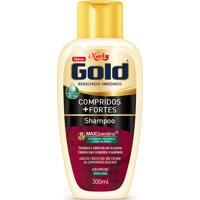 Shampoo Niely Gold Compridos + Fortes 300Ml