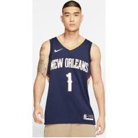 Camisa Nike Zion Williamson Pelicans Icon Edition Masculina