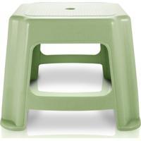 Jacki Design Banquinho Quadrado Cor Verde