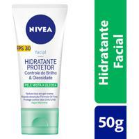 Hidratante Protetor Nivea Controle Do Brilho E Oleosidade Fps30 50Ml