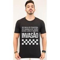 Camiseta Zé Carretilha - Timão - Invasão - Branco - Masculino - Masculino
