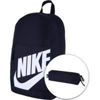 Mochila Nike Elemental Ya - Infantil - 20 Litros - Preto/Branco