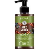 Finalizador Inoar Afro Vegan Leave-In 300Ml - Unissex-Incolor