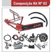Kit Para Bicicleta Elétrica De 800W Com Quadro - Unissex