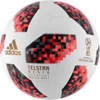 Bola De Futebol De Campo Telstar Oficial Finais Da Copa Do Mundo Fifa 2018 Adidas  Omb 61f163d1cdbc3