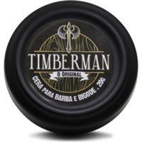 Cera Modeladora Timberman Para Barba E Bigode 20G