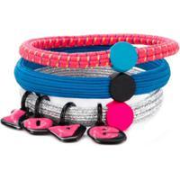 Marc Jacobs 'Love' Bracelet Set - Rosa