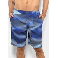 "Short Nike Swim Volley 9"" Estampa Masculino - Masculino"