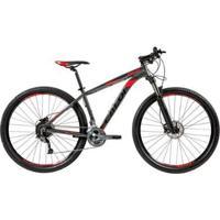 "Bicicleta Mtb Caloi Moab Aro 29 Susp Dianteira Quadro Alumínio 21"" 27 Vel - Unissex"