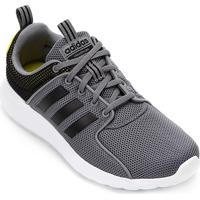 ... Tênis Adidas Cf Lite Racer M Masculino - Masculino-Preto+Branco bfd73bd6beac4