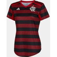 Camisa Flamengo I 20/21 S/N° Torcedor Adidas Feminina - Feminino