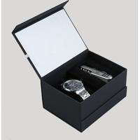 Kit De Relógio Analógico Orient Masculino + Canivete - Mbss1273 K265P2Sx Prateado - Único
