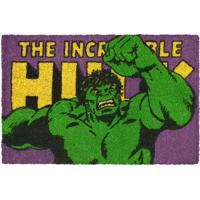 Capacho Hulk®- Verde & Roxo- 1,5X61X41Cm- Mabrukmabruk
