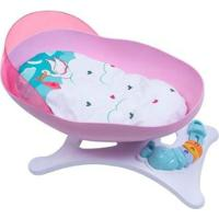 Berço De Brinquedo Baby Ninos Balanço - Feminino-Colorido