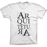 Camiseta Baby Look Lu Geek Arquitetura Branco