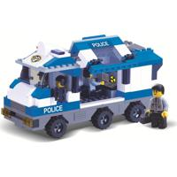 Blocos De Encaixe Xalingo Defensores Da Ordem Polícia 268 Peças Multicolorido