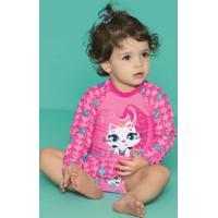 Camiseta Baby Gata Sereia 110200175 Puket