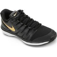 Tênis Nike Air Zoom Prestige Hc Masculino - Masculino-Preto+Dourado