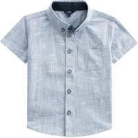 Camisa Aviãµes De Papel- Azul Claro- Primeiros Passosmundi