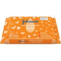 Lenços Umedecidos Limpeza E Suavidade Johnson'S Baby 44 Unidades - Unissex-Incolor