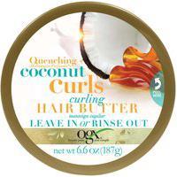 Manteiga Capilar Hidratante Ogx Coconut Curls Com 187G 187G