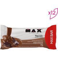 Barra Proteica Max Bar - Chocolate - 12 Unidadesprobiotica