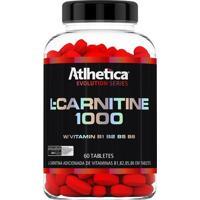 L-Carnitine 1000 60 Tabs- Atlhetica Nutrition - Unissex