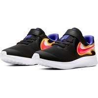 Tênis Infantil Nike Star Runner 2 Fire - Unissex-Preto+Mostarda