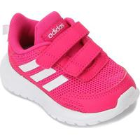 Tênis Infantil Adidas Tensaur Run Velcro Feminino - Unissex-Rosa+Branco