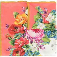 Dolce & Gabbana Echarpe Com Estampa Floral - Rosa