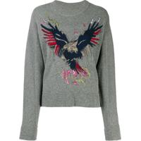 Zadig&Voltaire Suéter Eagle - Cinza