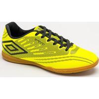 Chuteira Society Speed Iv- Amarelo Neon & Preta- Umbumbro