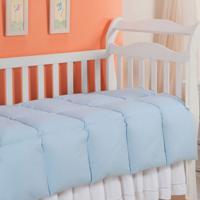 Edredom 100% Pena De Ganso-Baby-100X140-Azul