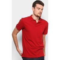 ae72c10669 ... Camisa Polo Em Piquet Forum Manga Curta Masculina - Masculino-Vermelho