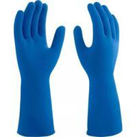 Luvas De Limpeza Pesada Azul Média - 3M - 3M