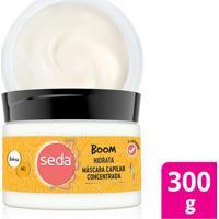 Máscara De Tratamento Seda Boom Hidrata Babosa E Mel 300G