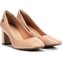 Sapato Scarpin Nj Mix Social Salto Médio Confortável