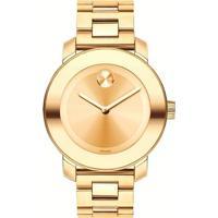 7df533ef4bc Relógio Movado Feminino Aço Dourado - 3600085