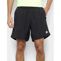 Short Adidas Response Masculino - Masculino-Preto+Branco