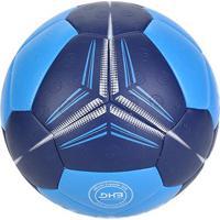 Bola De Handebol Kempa Spectrum Synergy Plus Oficial Confederação Brasileira - Unissex-Azul+Marinho